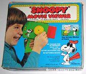 Peanuts & Snoopy Movie Viewers & Cartridges