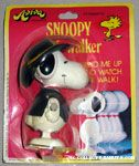 Cowboy Snoopy Wind-up Mini Walker