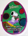 Snoopy riding Easter Bunny rocking horse Keychain & Chocolate Box