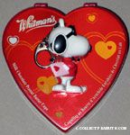 Joe Cool holding card Valentine's Keychain & Chocolate Container