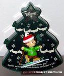 Linus ice skating Christmas Ornament & Chocolate Box