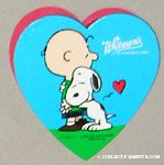 Snoopy hugging Charlie Brown Heart-shaped Valentine's Chocolate Box