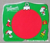Snoopy & Woodstock Green & Red Christmas Figure Chocolate Box