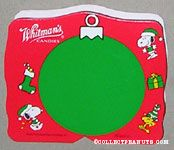 Snoopy & Woodstock Red & Green Christmas Figure Chocolate Box