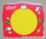 Snoopy & Woodstock Red & Yellow Christmas Figure Chocolate Box