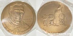 Charles M. Schulz Congressional Medal 2000
