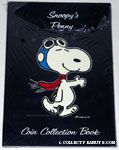 Snoopy Flying Ace Coin Collecting Book