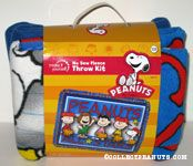 Peanuts all-stars fleece throw kit