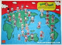 Snoopy World Tour Snoopy Placemat Series 1