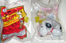 Snoopy & Woodstock flashlight toy Snoopy & the Peanuts Gang Series