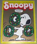 Snoopy Italian Magazine December 1986