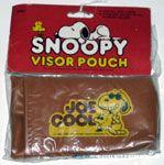 Joe Cool & Woodstock Car Visor Pouch