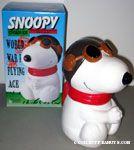 Snoopy Flying Ace Cookie Jar