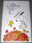 Peanuts Fall Press-out Book