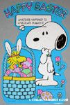 Peanuts & Snoopy Easter Decorations