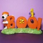 Snoopy & Woodstocks 'Boo!' Figurine