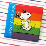 Snoopy Fan Club Button