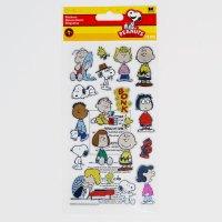 Peanuts Gang Foil Stickers