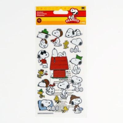 Snoopy & Woodstock Foil Stickers