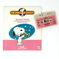 Snoopy's Band Tape and Book