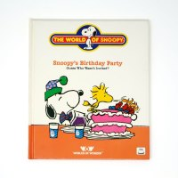 Snoopy's Birthday Party Book