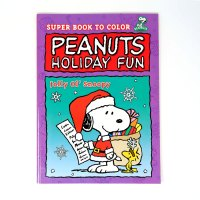 Peanuts Gang Gifts to Share Coloring Book