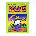 Scarecrow Snoopy Halloween Coloring Book