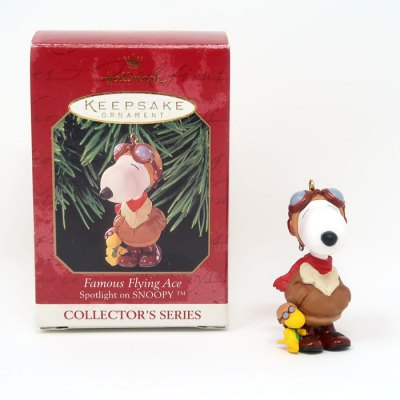 Snoopy Famous Flying Ace Ornament