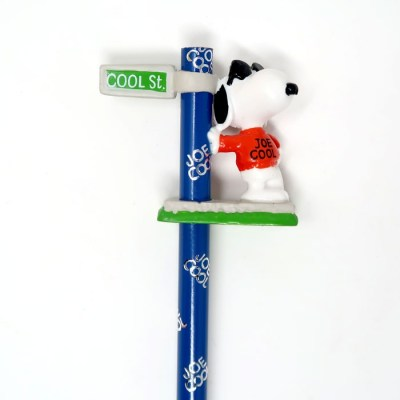 Snoopy Joe Cool Pencil and Topper