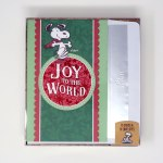 Snoopy dancing 'Joy to the World' Christmas Cards