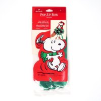 Snoopy dancing Pop-up Bow