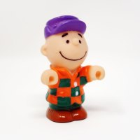 Charlie Brown Farmer Figure