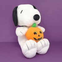 Snoopy with Pumpkin Halloween Plush