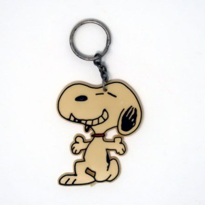 Snoopy Striking Pose Keychain