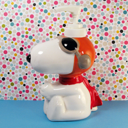 Click to view Snoopy Flying Ace Soap Dispenser