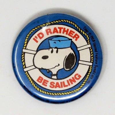 Sailor Snoopy Button