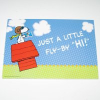 Snoopy Flying Ace Stamp Postcards