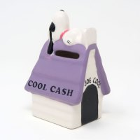 Snoopy Joe Cool Purple Cool Cash Bank