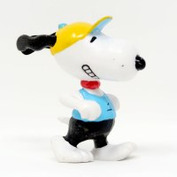 Jogging Snoopy PVC Figurine