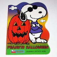 Snoopy Joe Cool Halloween Coloring Book