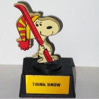 Snoopy Skiier Trophy