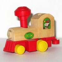Peanuts Train Wooden Toy