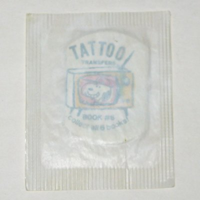 Snoopy in Baseball Cap - Tattoo Transfer Book #6