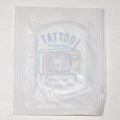 Snoopy Dancing - Tattoo Transfer Book #2