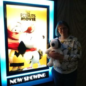 At the Peanuts Movie Premier