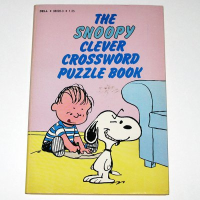 The Snoopy Clever Crossword Puzzle Book