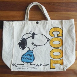 Snoopy Tote Bag by Butterfly Originals