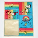 Rainbow Snoopy & Woodstock Stickers
