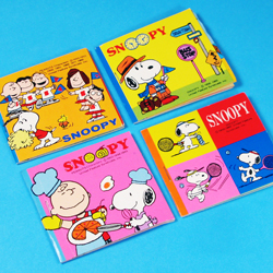 Stuck on Snoopy Stickers