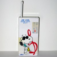 Snoopy Joe Cool Wet Tunes Shower Radio